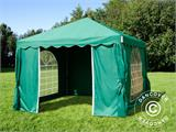 Marquee UNICO 3x3 m, Dark Green - 9