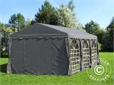 Partytent UNICO 3x6m, Donkergrij - 4
