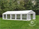 Marquee PLUS 5x10 m PE, White + Ground bar - 2