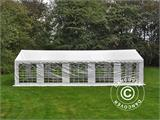 Marquee PLUS 5x10 m PE, White + Ground bar - 3