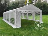 Marquee PLUS 5x10 m PE, White + Ground bar - 6