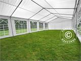Marquee PLUS 5x10 m PE, White + Ground bar - 8