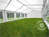 Marquee PLUS 5x10 m PE, White + Ground bar - 9