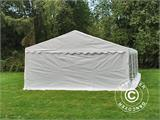 Marquee PLUS 5x10 m PE, White + Ground bar - 10