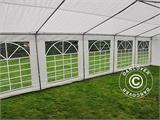Marquee PLUS 5x10 m PE, White + Ground bar - 12