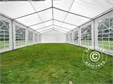 Marquee PLUS 5x10 m PE, White + Ground bar - 13