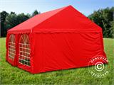 Marquee UNICO 4x4 m, Red - 3