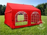 Marquee UNICO 4x4 m, Red - 7