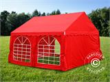 Marquee UNICO 4x4 m, Red - 13