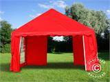 Marquee UNICO 4x4 m, Red - 17