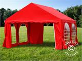 Marquee UNICO 4x4 m, Red - 19