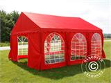 Partytent UNICO 4x6m, Rood - 1