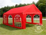 Partytent UNICO 4x6m, Rood - 2