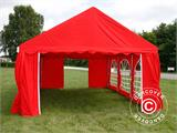 Partytent UNICO 4x6m, Rood - 3