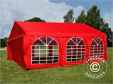 Partytent UNICO 4x6m, Rood - 5