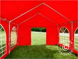 Partytent UNICO 4x6m, Rood - 6