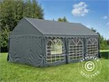 Marquee UNICO 4x6 m, Dark Grey - 5