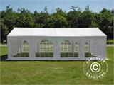 Partytent Original 4x8m PVC, Wit - 1