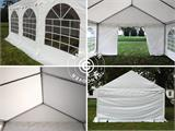 Partytent Original 4x8m PVC, Wit - 8