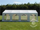 "Marquee Original 4x8 m PVC, ""Arched"", White - 2"