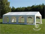 "Marquee Original 4x8 m PVC, ""Arched"", White - 3"
