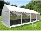 Partytent Original 4x8m PVC, Panorama, Wit - 1
