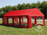 Marquee UNICO 4x8 m, Red - 2