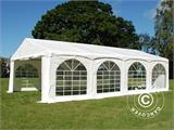"Tente de réception Original 5x8m PVC, ""Arched"", Blanc - 2"
