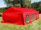 Marquee UNICO 5x8m, Red - 4