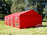 Marquee UNICO 5x8m, Red - 6