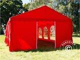 Marquee UNICO 5x8m, Red - 7