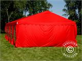 Marquee UNICO 5x10 m, Red - 3