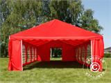 Marquee UNICO 5x10 m, Red - 11