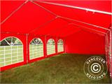 Marquee UNICO 5x10 m, Red - 16