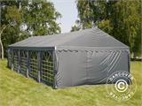 Partytent UNICO 5x10m, Donkergrij - 2