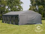 Partytent UNICO 5x10m, Donkergrij - 4