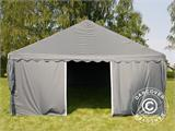 Partytent UNICO 5x10m, Donkergrij - 5