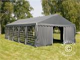 Partytent UNICO 5x10m, Donkergrij - 6