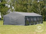 Partytent UNICO 5x10m, Donkergrij - 9