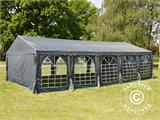 Partytent UNICO 5x10m, Donkergrij - 12