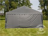 Partytent UNICO 5x10m, Donkergrij - 14