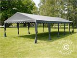 Partytent UNICO 5x10m, Donkergrij - 17