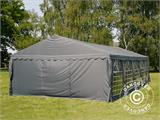 Partytent UNICO 5x10m, Donkergrij - 24