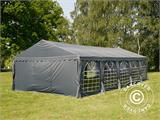 Partytent UNICO 5x10m, Donkergrij - 27