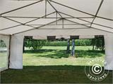 Partytent Exclusive 6x10m PVC, Grijs/Wit - 15