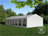 Carpa para fiestas, SEMI PRO Plus CombiTents® 6x14m, 5-i-1, Blanco - 1