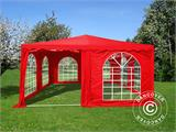 Pagoda Marquee UNICO 5x5 m, Red - 2
