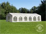 Tendone per feste, SEMI PRO Plus CombiTents® 7x12m 4 in 1, Bianco - 4