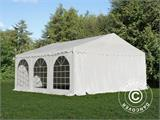 Carpa para fiestas, SEMI PRO Plus CombiTents® 7x14m 5 en 1, Blanco - 13