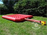 Bouncy cushion 7x7 m, Red, rental quality - 2